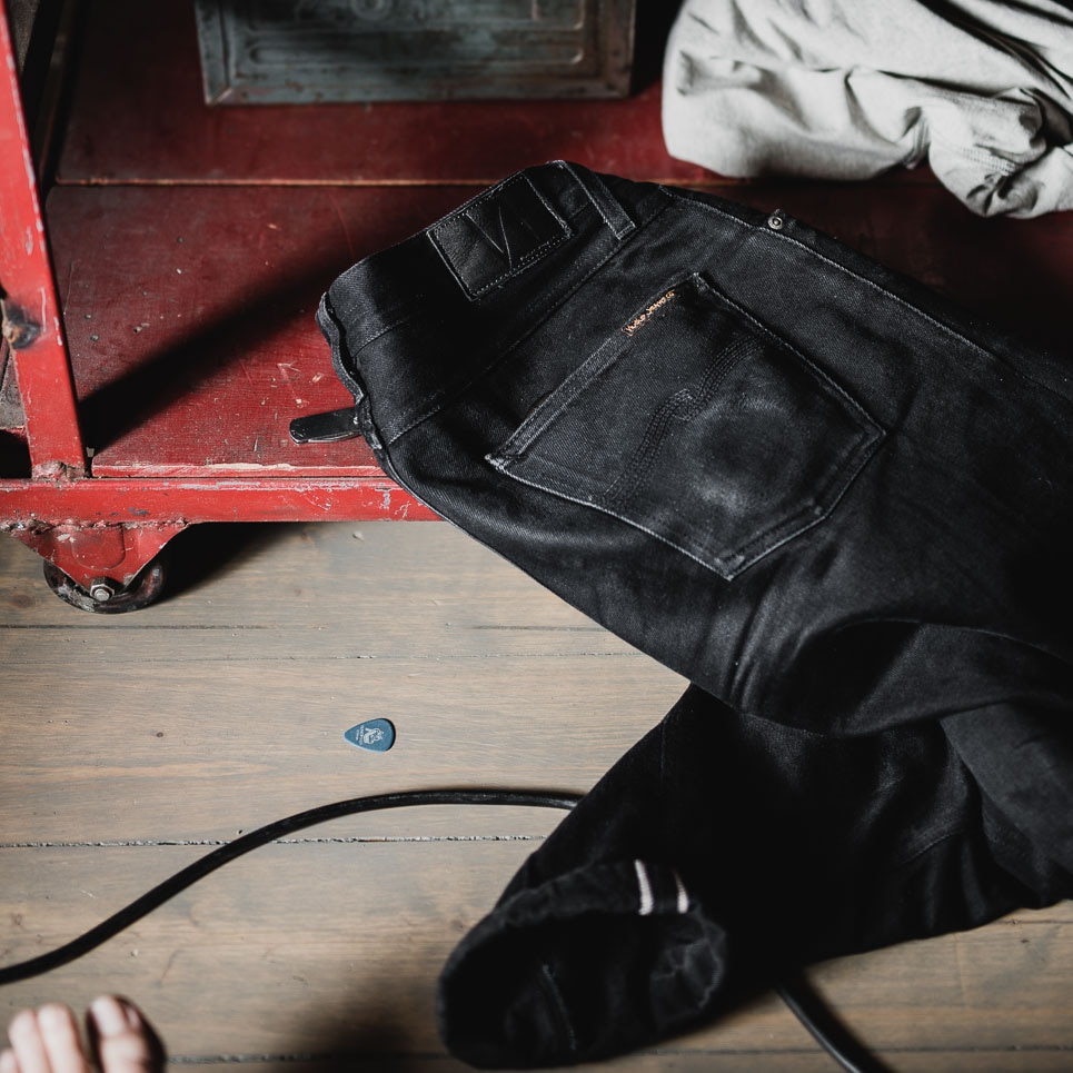 393e1fe396bded Black denim: wearing, washing and the pop cultural aspect - Nudie Jeans