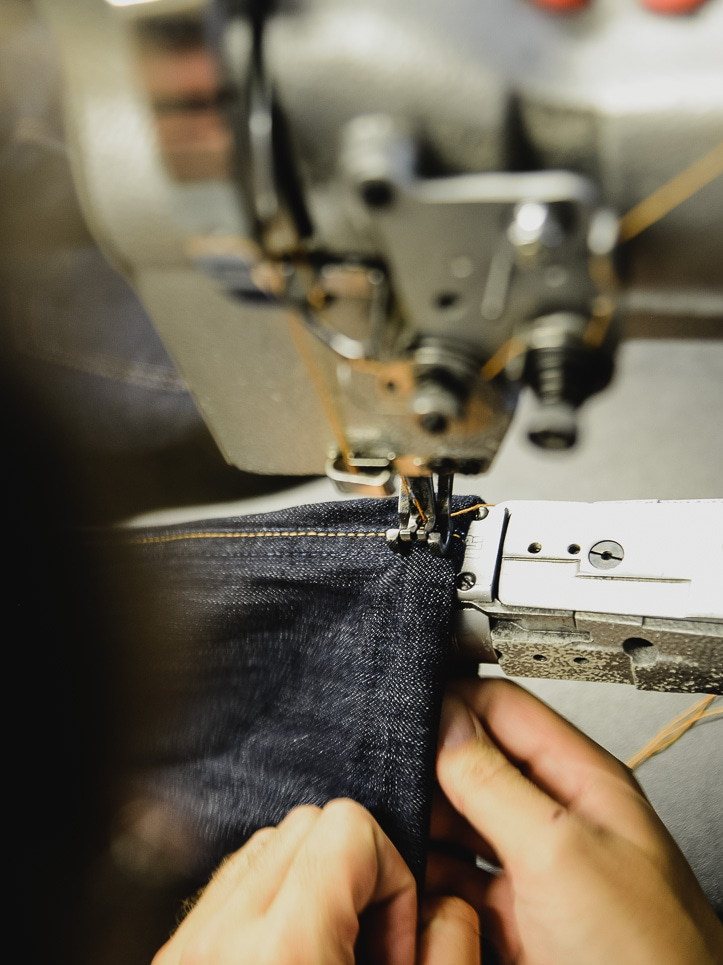 This Is How We Do It How To Hem Jeans Nudie Jeans Cool Hemming Jeans Sewing Machine