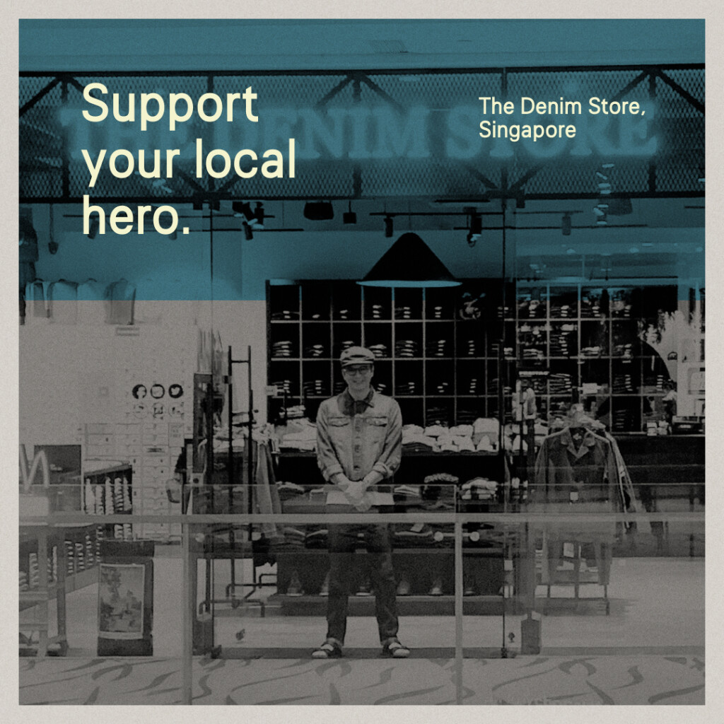Local Heroes — The Denim Store, Singapore