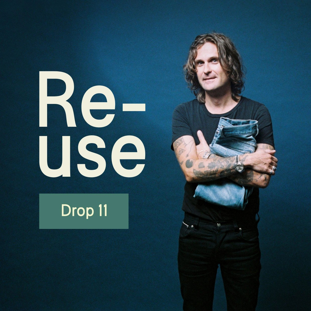 Ready Yourselves! Re-use Drop 11 is Soon Live on nudiejeans.com