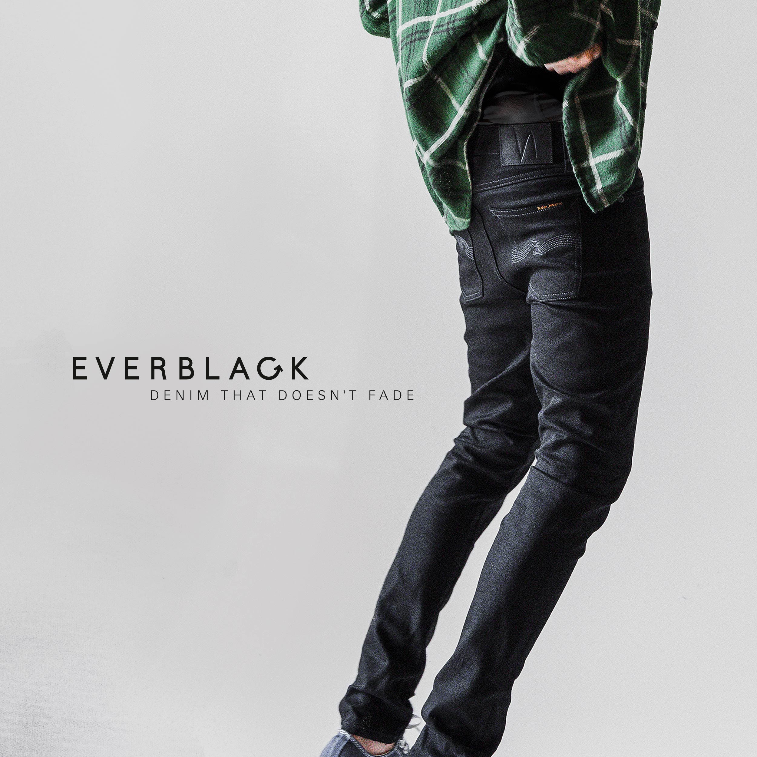wide range fashion style thoughts on Everblack – Denim that doesn't fade - Nudie Jeans