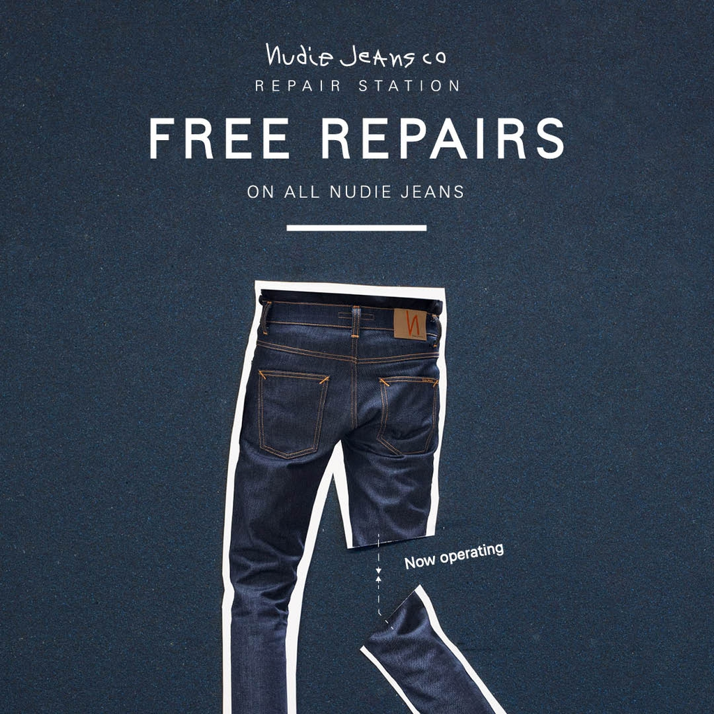 Nudie Jeans repair tour