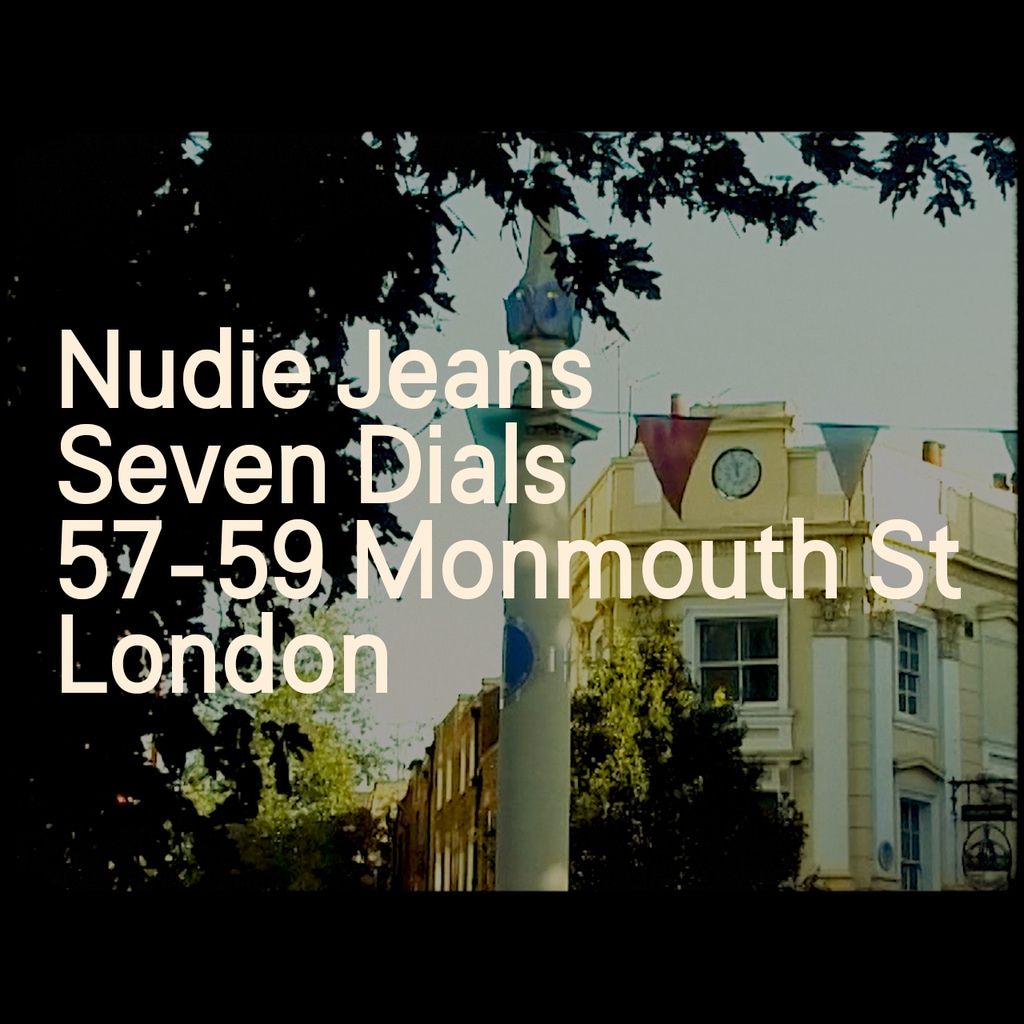 New Repair Shop coming soon — Nudie Jeans Seven Dials