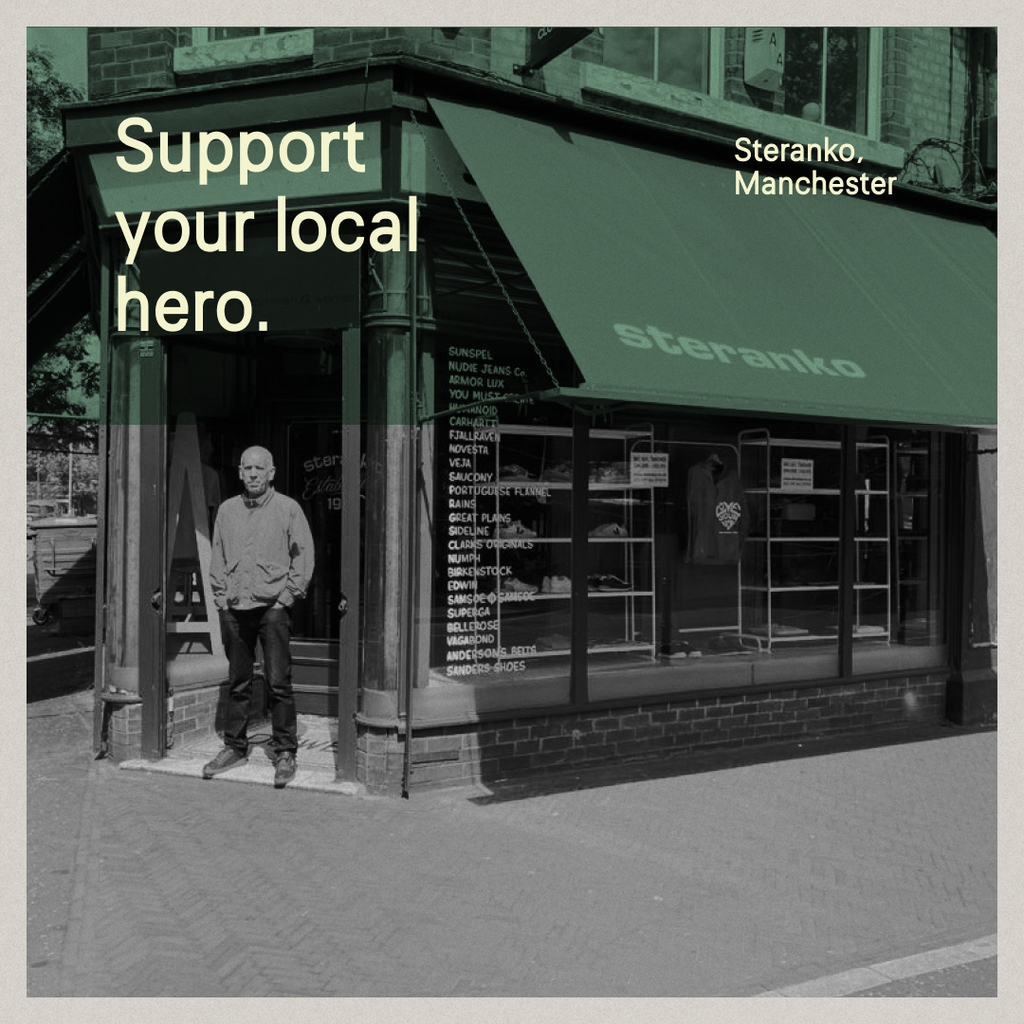 Local Heroes: Steranko, Manchester