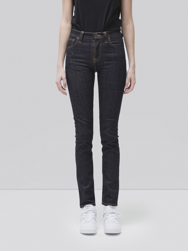 High Kai Twill Navy dry jeans