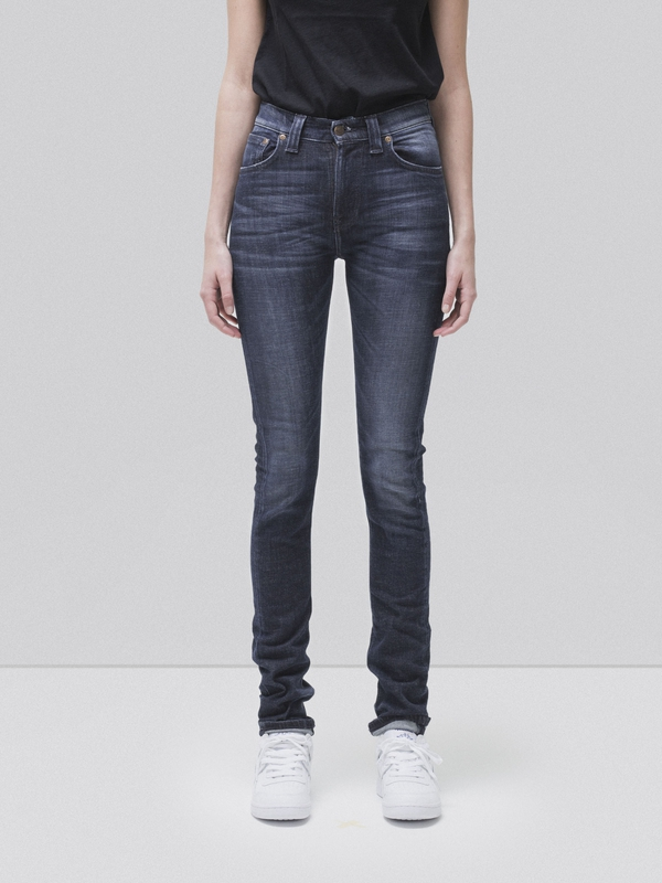 High Kai Org Used Navy dry jeans