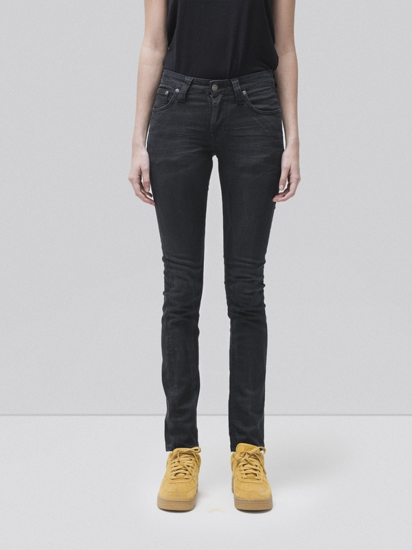 Skinny Lin Concrete Weft prewashed jeans