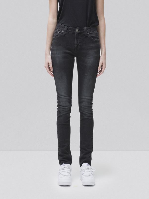 Skinny Lin Shadow Haze black jeans