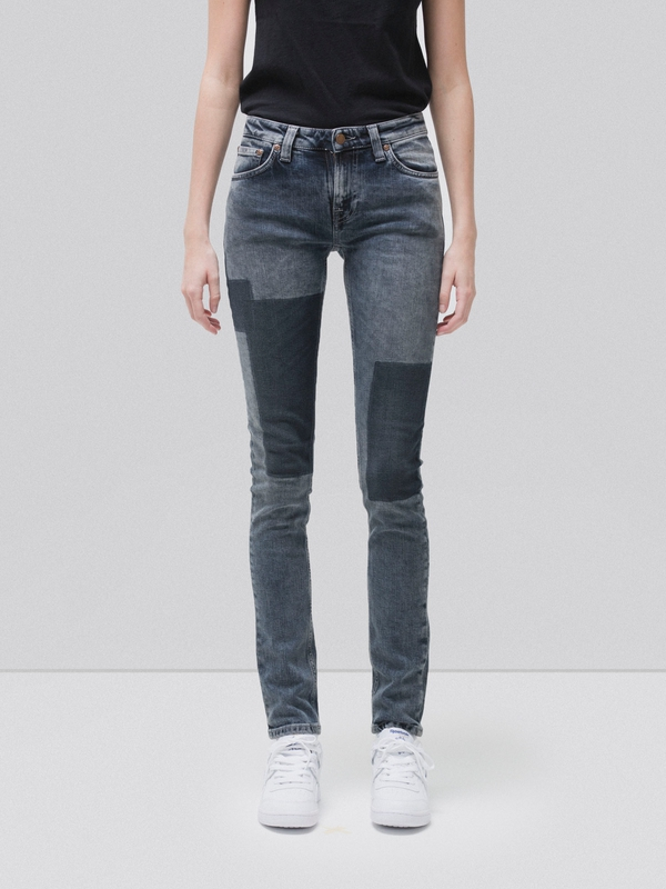 Skinny Lin Patches prewashed jeans