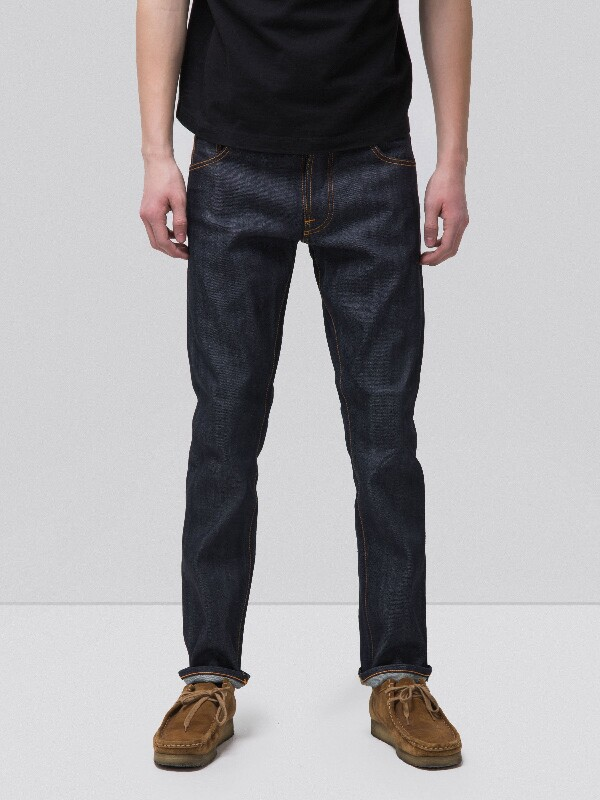 Dude Dan Dry Orange Selvage dry jeans selvage