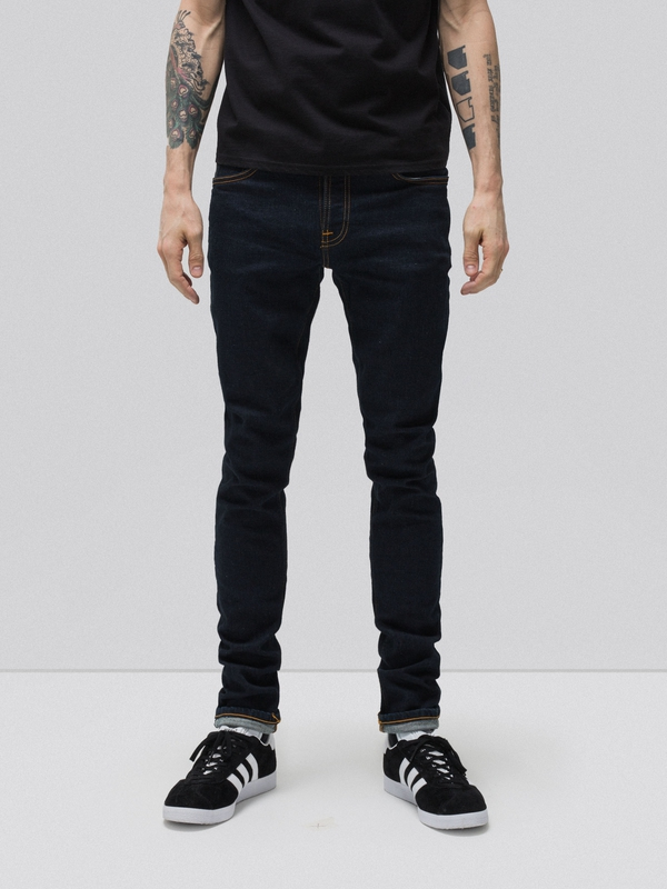 Skinny Lin Rinse Selvage Stretch prewashed jeans