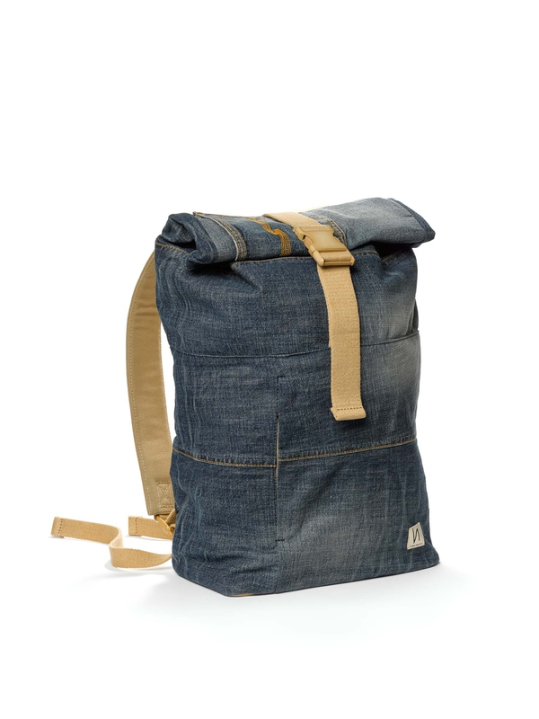 Torsson Rolltop Rucksack Denim bags accessories
