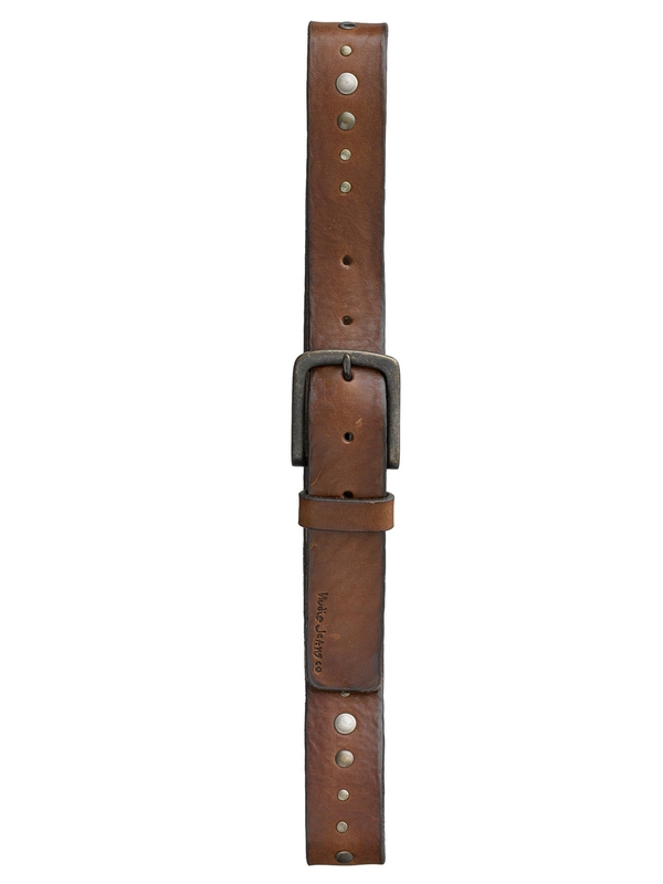 Sebastiansson Studs Belt Brown belts accessories