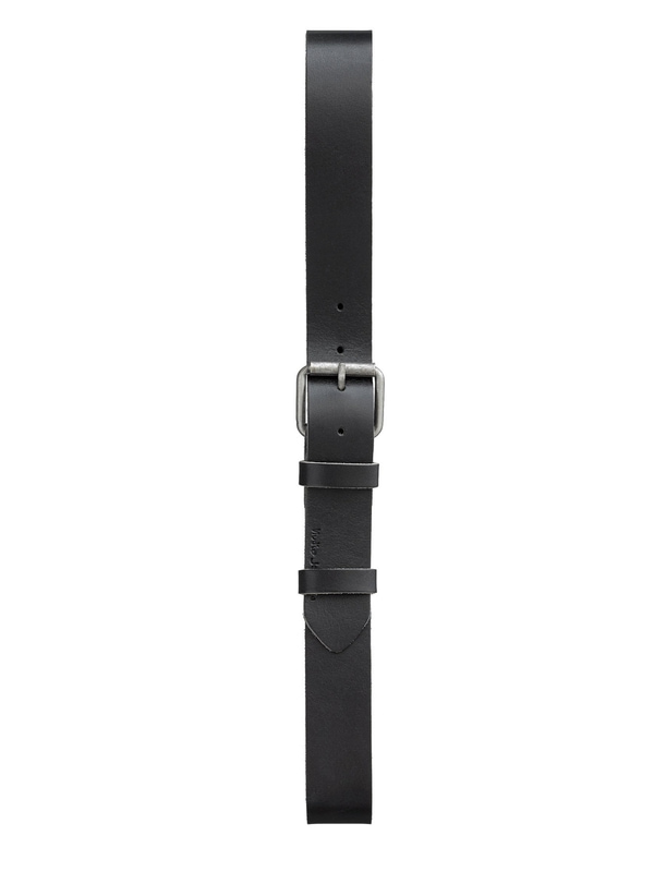 Pedersson Leather Belt Black belts accessories