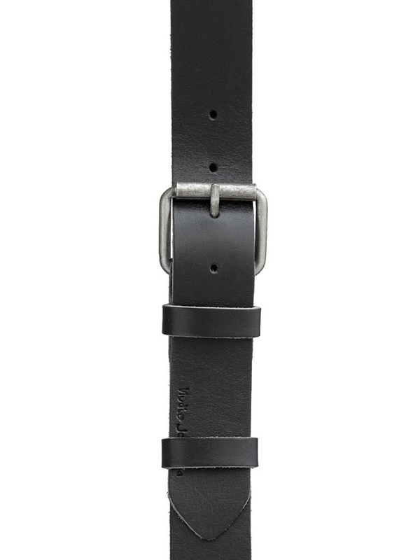 Pedersson Leather Belt Black