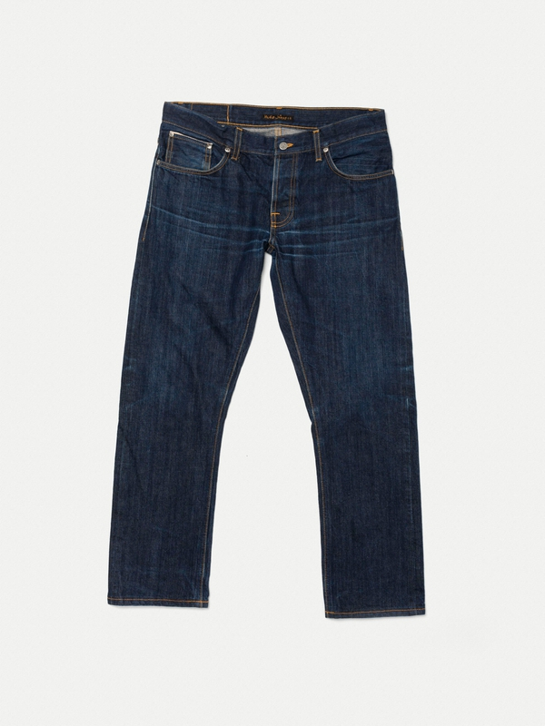 Grim Tim Re-use 37 selvage re-use dark-blue