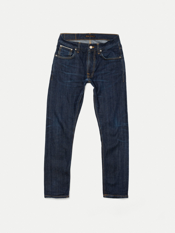 Lean Dean Re-use 127 selvage re-use dark-blue repaired