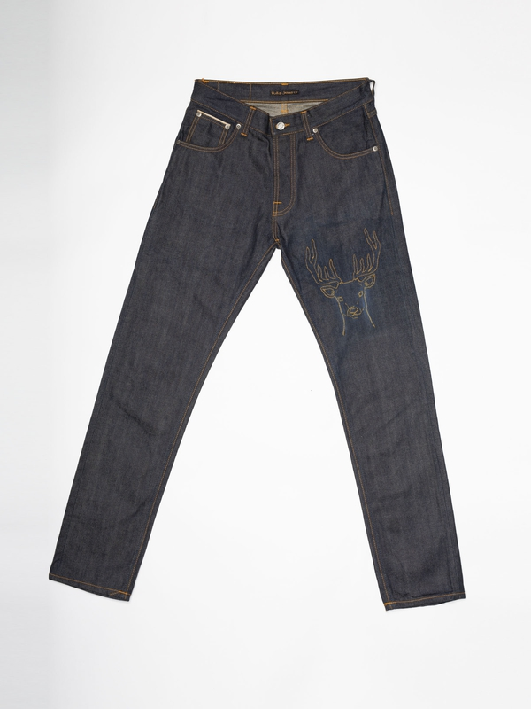 Steady Eddie Re-use 591 selvage re-use dark-blue repaired