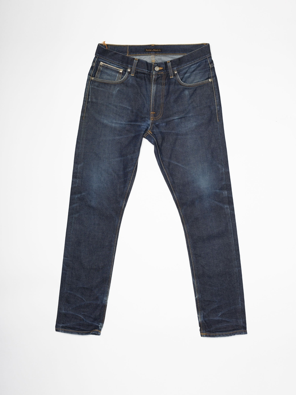 Lean Dean Re-use 750 selvage re-use dark-blue repaired