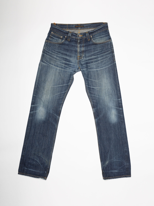 Average Joe Re-use 934 selvage re-use mid-blue repaired