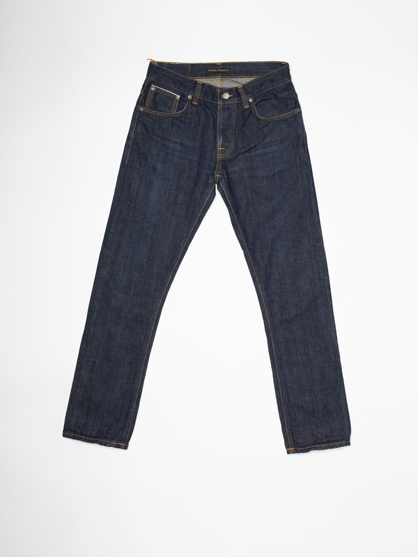 Grim Tim Re-use 939 selvage re-use dark-blue repaired