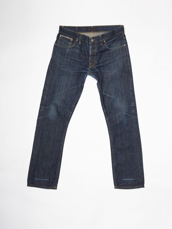 Grim Tim Re-use 950 selvage re-use dark-blue repaired