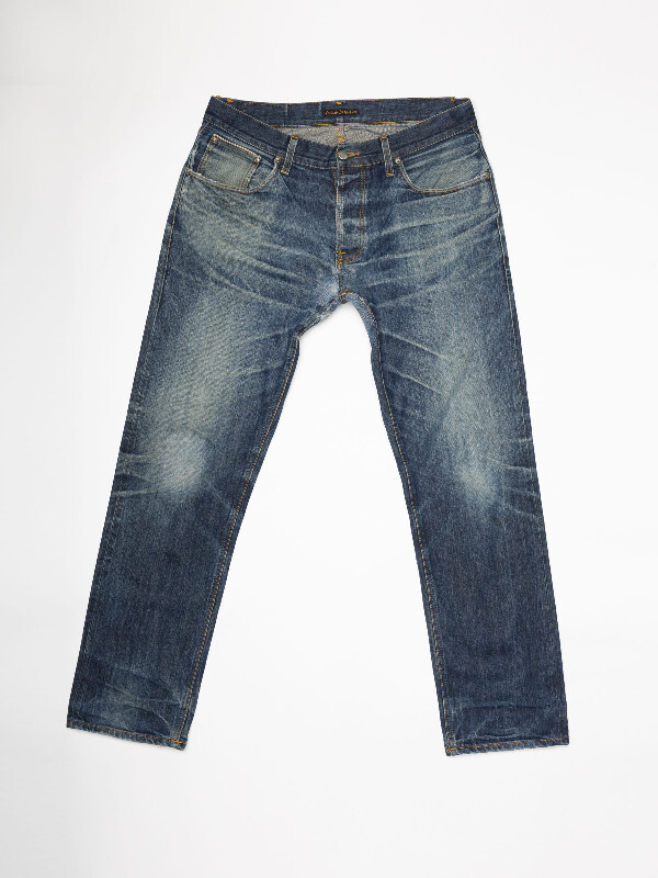 Sharp Bengt Re-use 951 selvage re-use mid-blue repaired