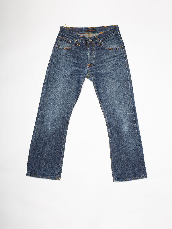 Regular Ralf Re-use 982 selvage re-use mid-blue repaired