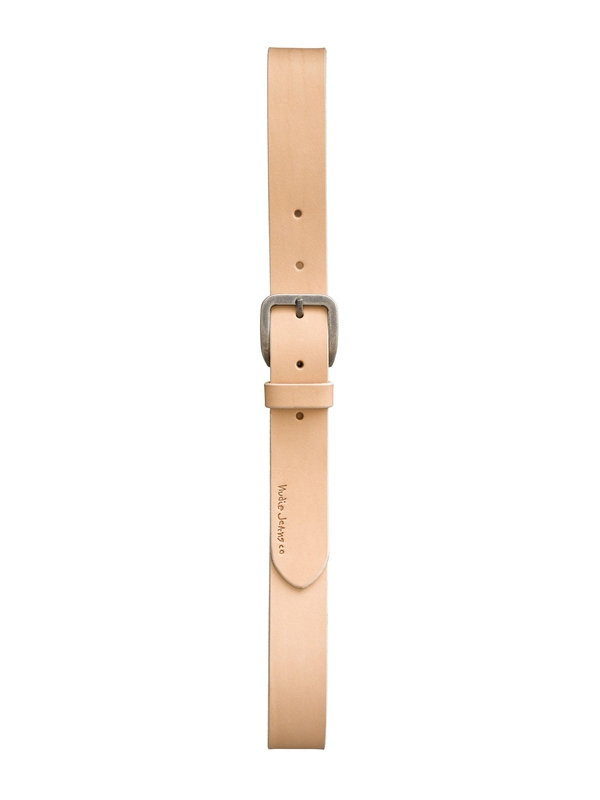 Albertsson Raw Edge Belt Natural belts accessories