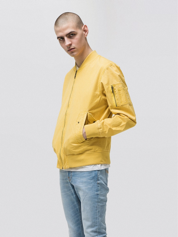 Alexander Bomber Jacket Sun Yellow jackets
