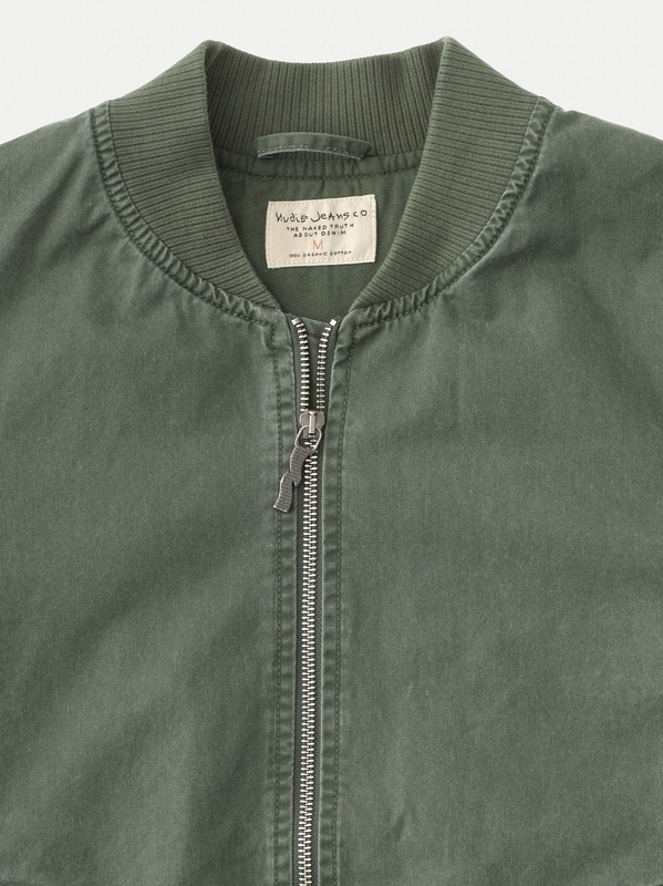 Jeans Green Alexander Tor Nudie Uxoxqf Jacket Bomber vqTxZx8