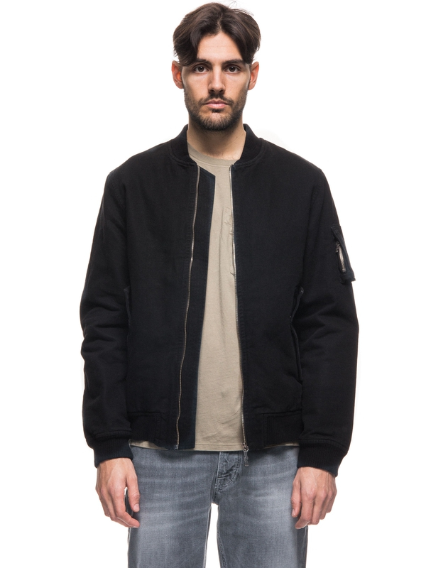 Alexander Canvas Bomber Black jackets