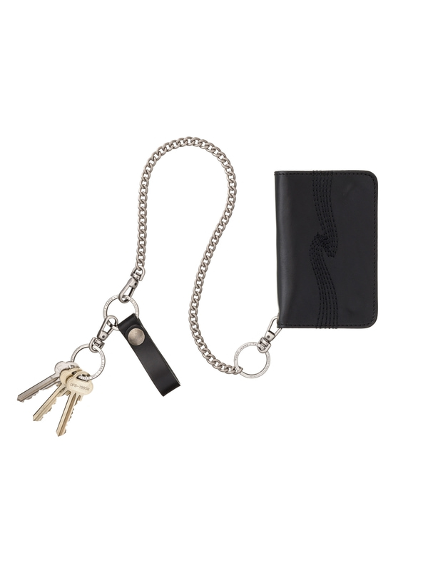 Alfredsson Chain Wallet Black wallets accessories