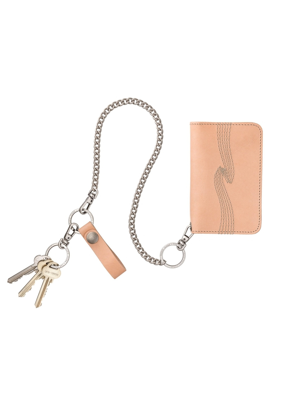 Alfredsson Chain Wallet Natural wallets accessories