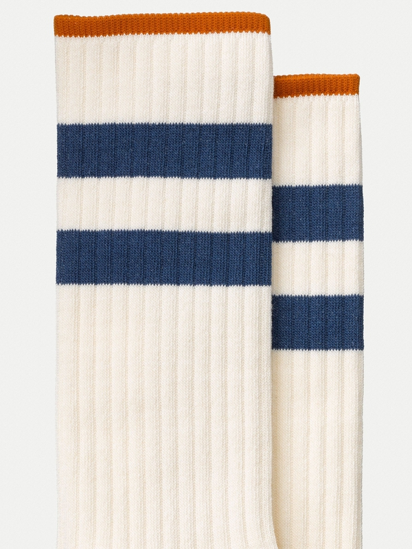 Amundsson Sport Socks White/Navy