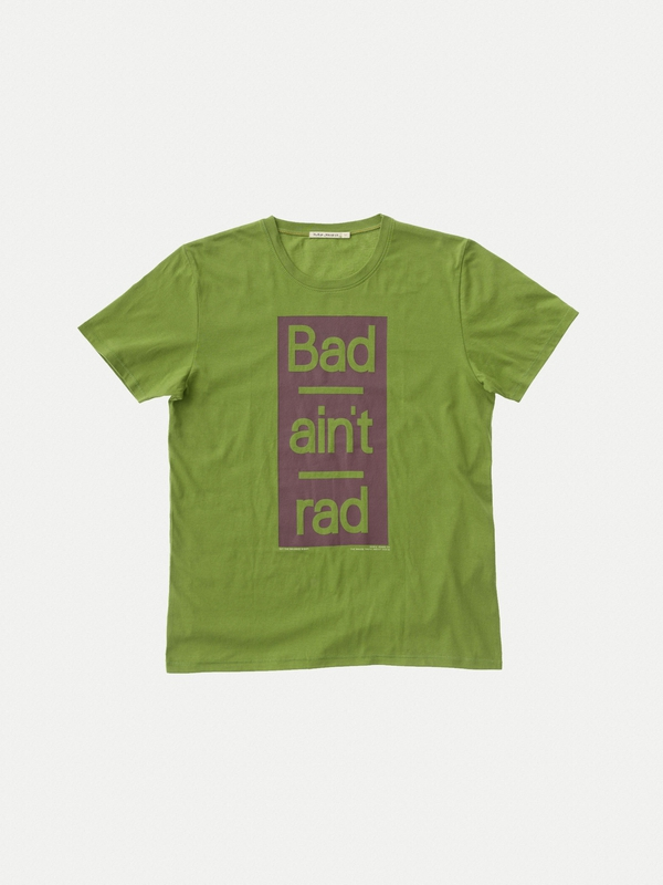 Anders Bad Aint Rad Pea short-sleeved tees printed
