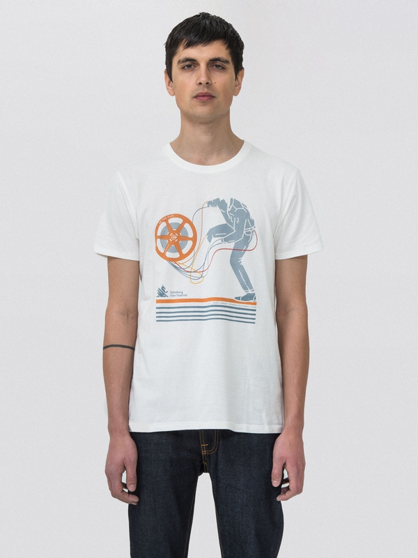 Anders Be The Film Offwhite short-sleeved tees printed