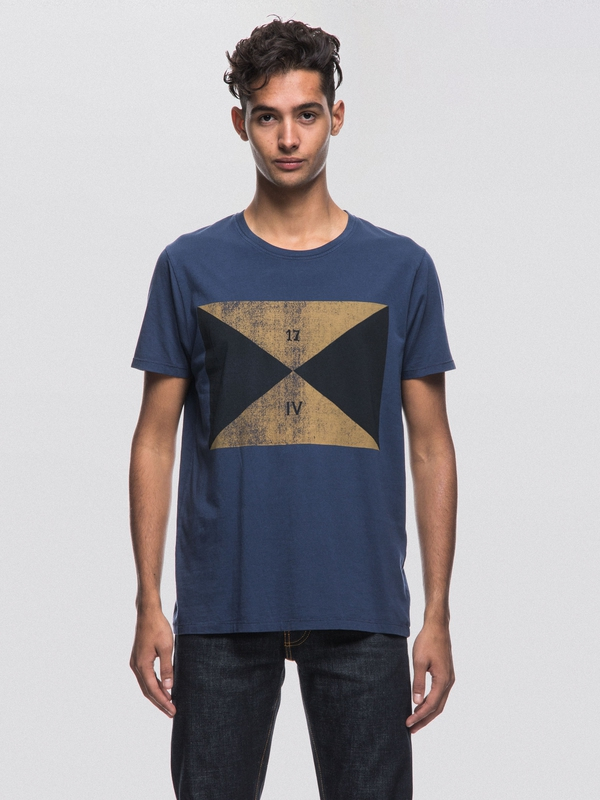 Anders Flag Midnight short-sleeved tees printed