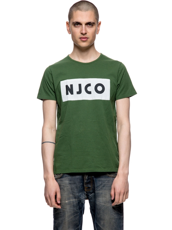Anders NJCO Patched Grass short-sleeved tees printed