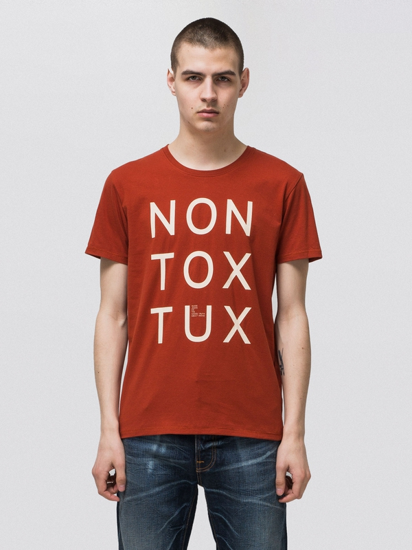Anders Non Tox Tux Terra short-sleeved tees printed