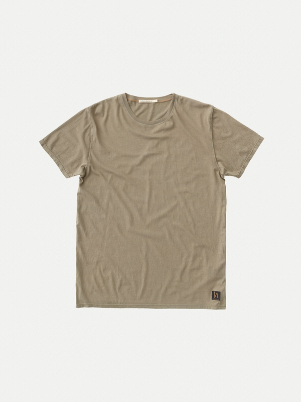 Anders Desert Green short-sleeved tees solid