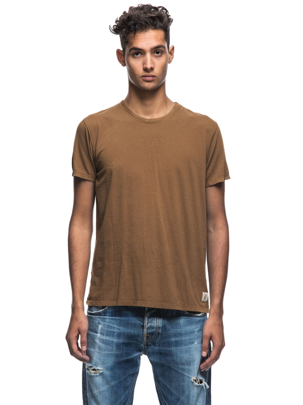 Anders Lion short-sleeved tees solid
