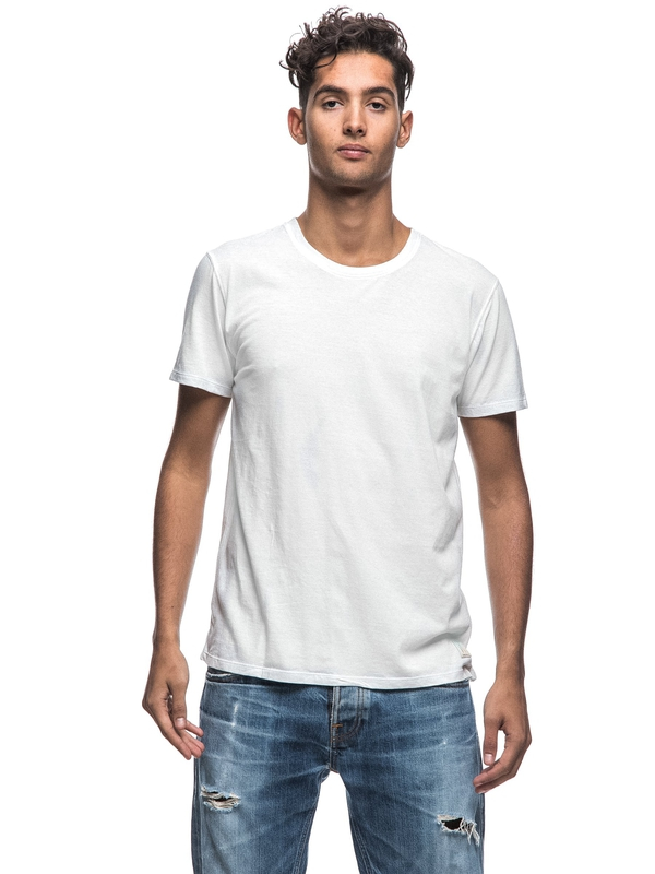 Anders Offwhite short-sleeved tees solid