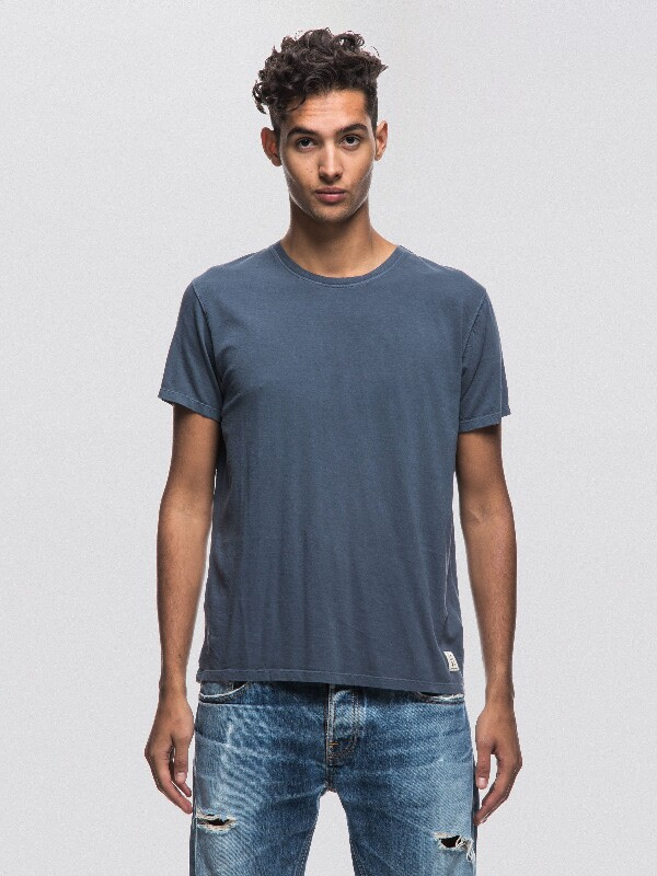 Anders Royal Ash short-sleeved tees solid