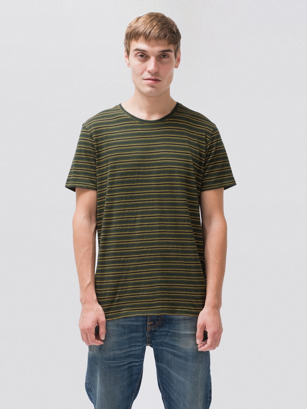 Anders Thin Lines Ivy short-sleeved tees printed