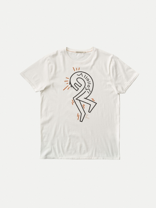 Anders Wolf #2 Offwhite short-sleeved tees