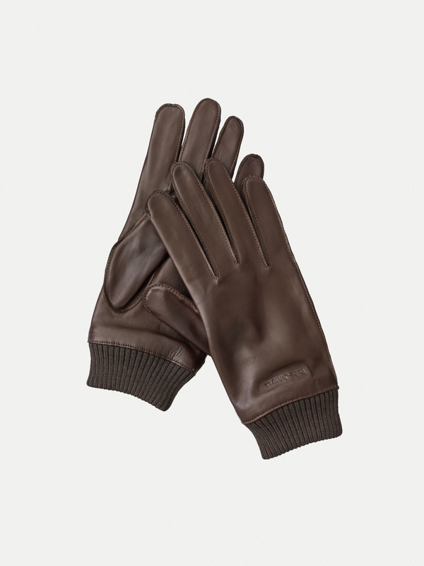 Arvidsson Leather Glove Dark Brown accessories
