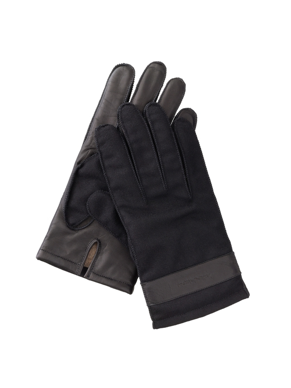Arvidsson Leather and Wool Black