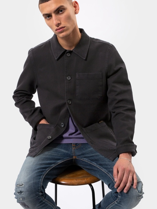 Barney Worker Jacket Black jackets