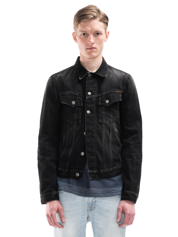 Billy Black Lotus Denim prewashed denim-jackets